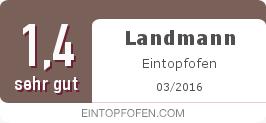 Testsiegel: Landmann Eintopfofen